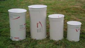 Variable capacity plastic tanks