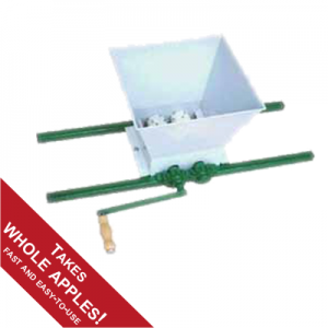 manual apple mill / crusher
