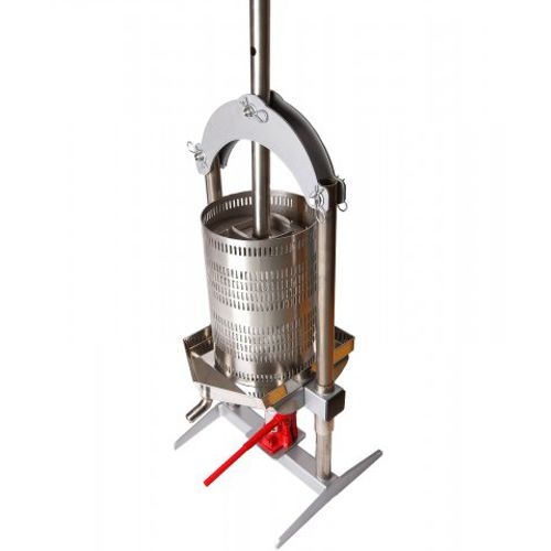 Hydraulic jack press vah18 18 litre fruit press apple for Home wine press