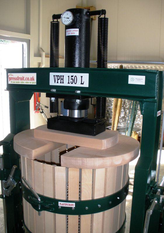 hydraulic fruit press - 150 L