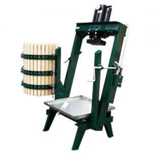 hydraulic cider press