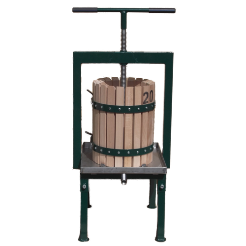 Stainless steel cider press 20 L