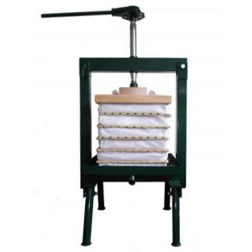 Apple press rack and cloth
