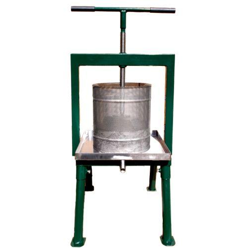 Cross beam fruit press paxi20 20 litre fruit press for Home wine press
