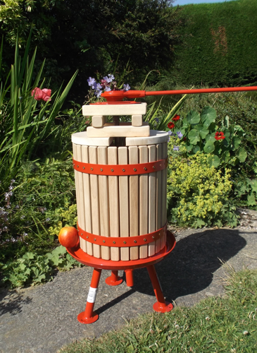 20 litre fruit press (red)