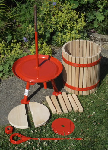 20 litre fruit press (red) - parts