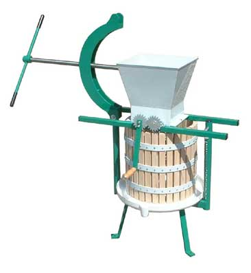 30 litre press with apple mill