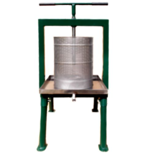 Cross beam fruit press paxi30 30 litre fruit press for Home wine press