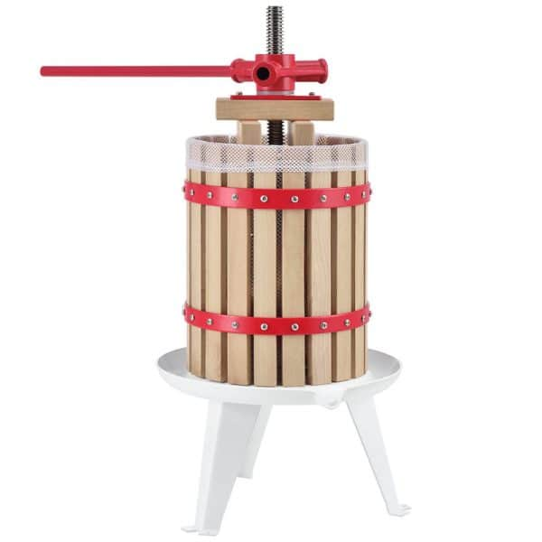 6 litre small fruit press for apples, pears and grapes