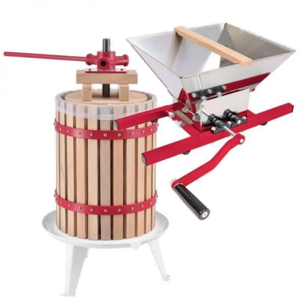 KS18 fruit press and DIY fruit crusher COMBO