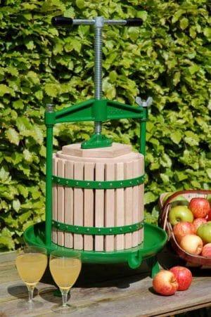 Cast iron apple press - size