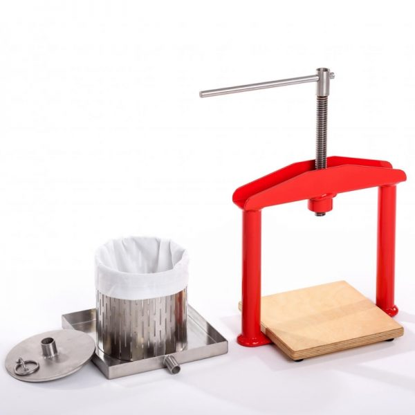 Small stainless steel fruit press APL3S - parts
