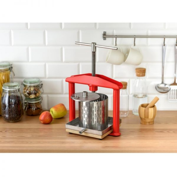 Small stainless steel fruit press APL3S - kitchen top