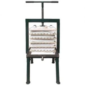 Rack and_cloth cider press