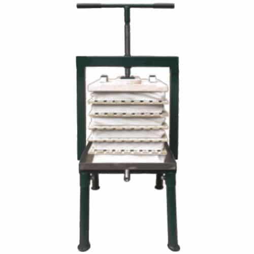 Rack and_cloth cider press
