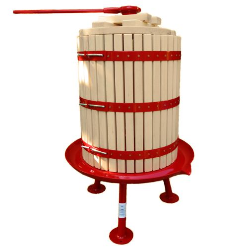 Traditional fruit press 43 litre