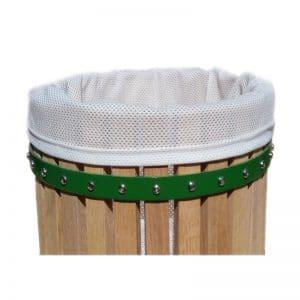 Coarse mesh pressbag
