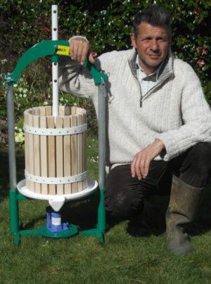 20 litre jack cider press - size