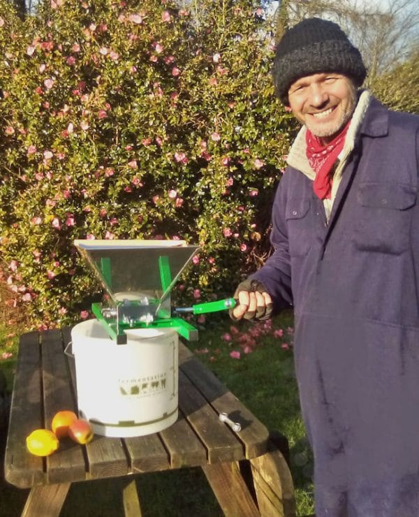 Hobby fruit crusher for apples an pears - size
