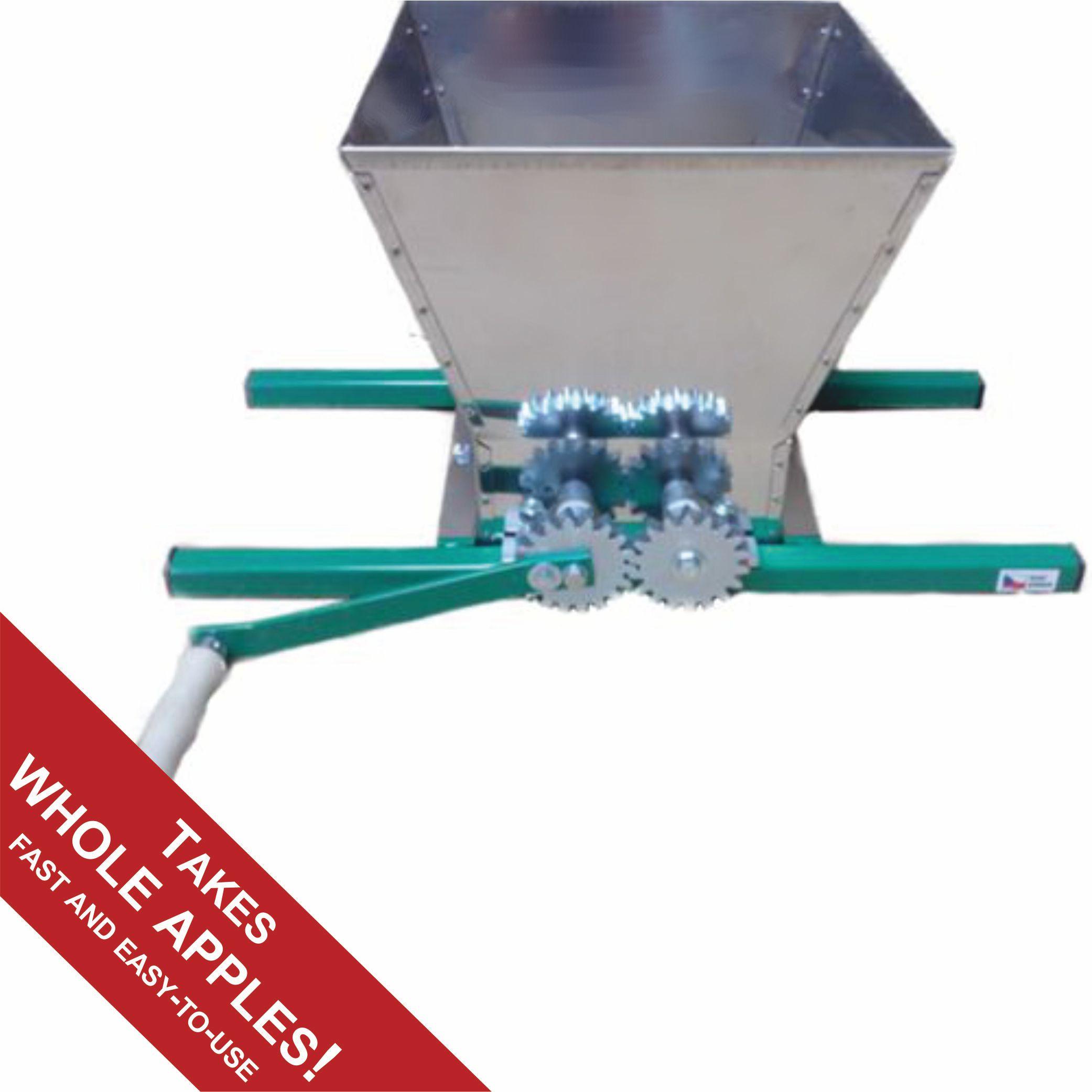 Fruit crusher grape apple crusher grinder for grape apple fruit - Stainless Steel Apple Mill Or Crusher