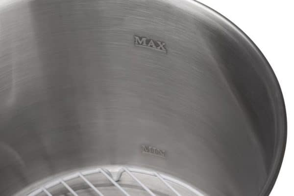 Stainless steel pasteuriser - capacity