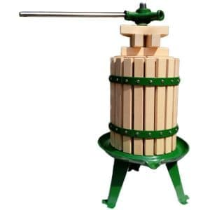 VG6 tabletop fruit press