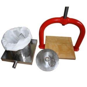 Small crossbeam fruit press - parts