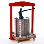 Hydraulic cider press (stainless steel) GP-26s