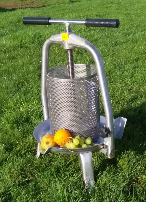 Cross Beam Fruit press FB9S- stainless steel