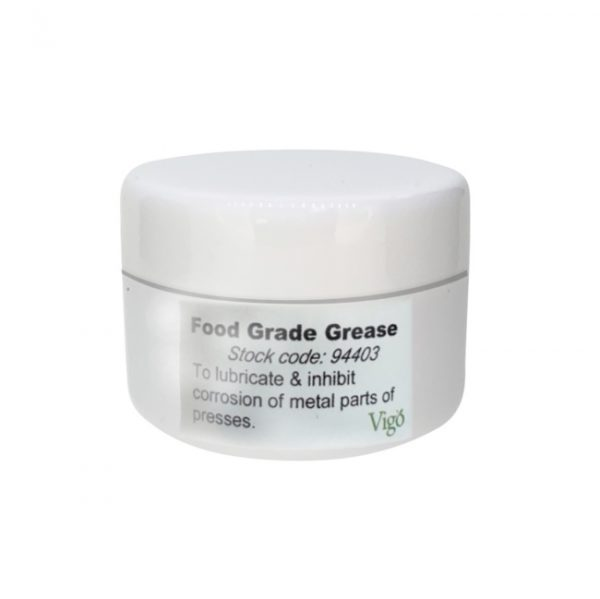 Grease for fruit presses