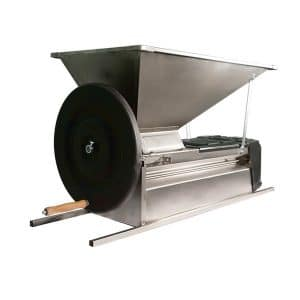 Grape Crusher Destemmer - stainless steel - manual