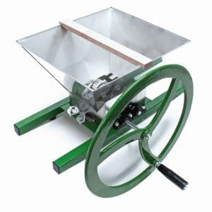 Apple Crusher / Fruit crusher with flywheel