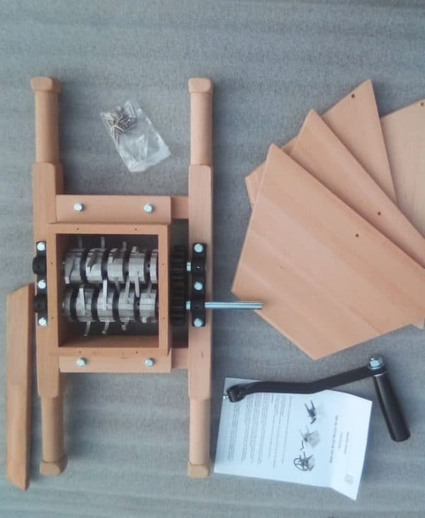 Wooden apple crusher - parts