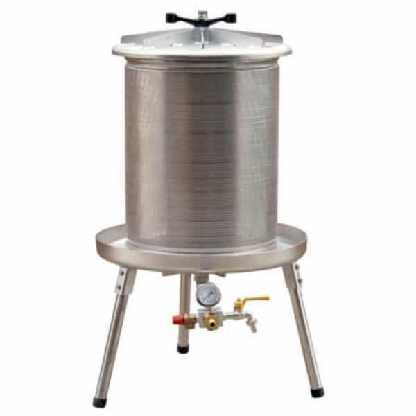 Water operated press (hydropress) 80 litre