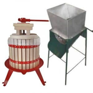 12 litre fruit press and crusher combo